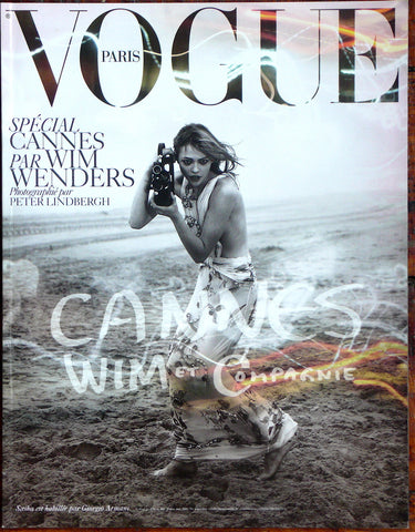 "Paris Vogue Supplement ""Special CANNES par WIM WENDERS"""