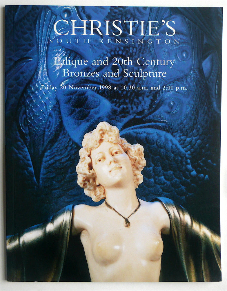 Lalique and 20th Century Bronzes and Sculpture