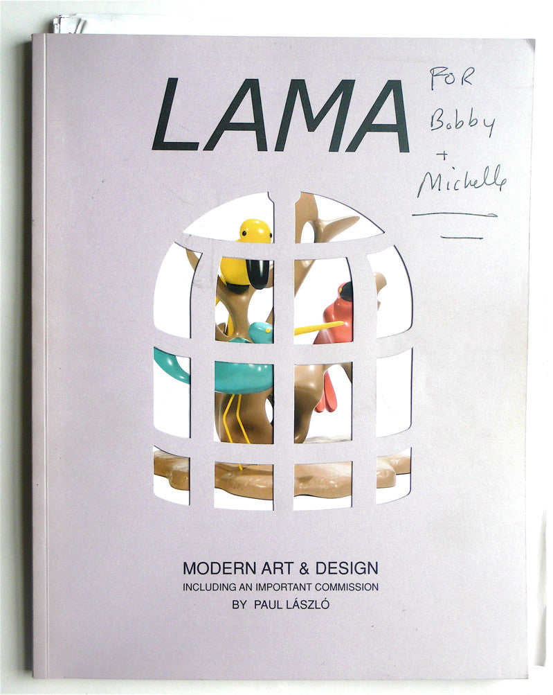 Modern Art & Design: Including an Important Commission by Paul Laszlo