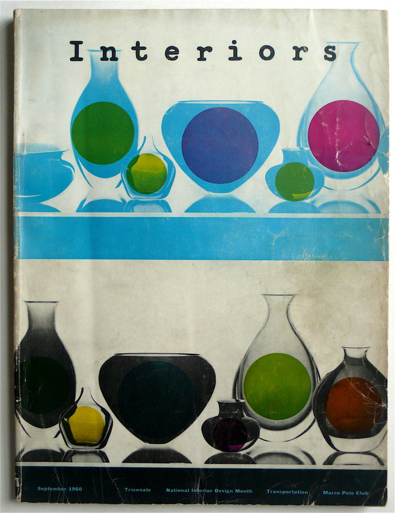 Interiors magazine September 1960 Donald Deskey