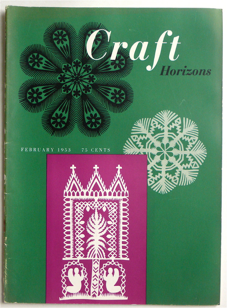 Craft Horizons February 1953