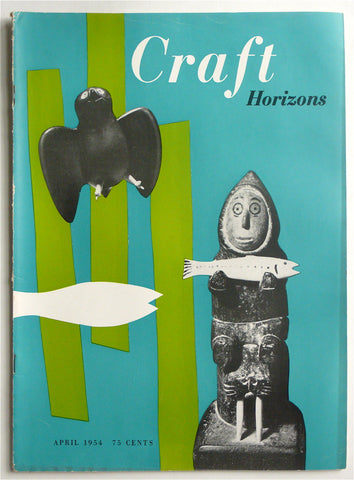 Craft Horizons April 1954 Peter Otsuni