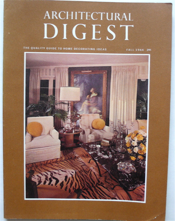Architectural Digest Fall 1966
