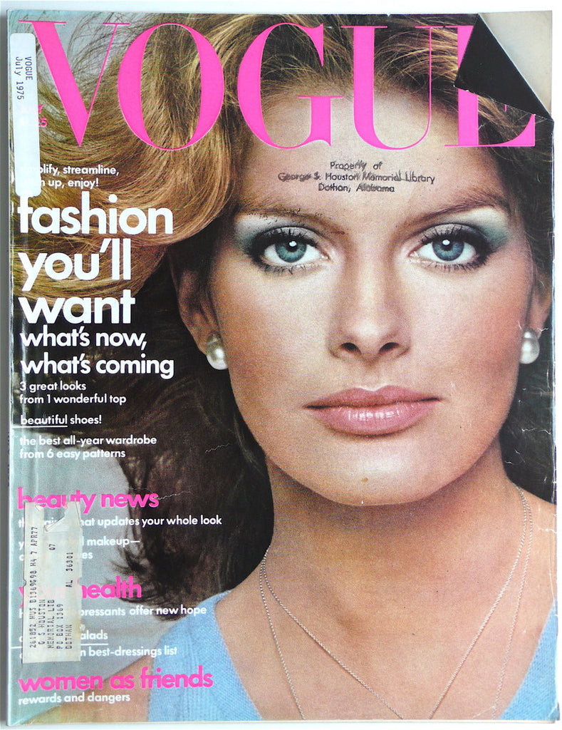 Vogue magazine July 1975