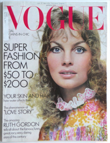 Vogue March 1971 Jean Shrimpton