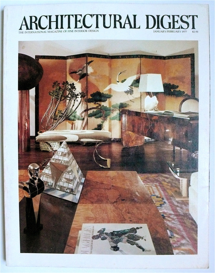 Architectural Digest January/February 1977
