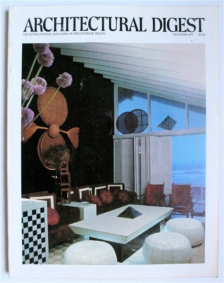 Architectural Digest May/June 1977