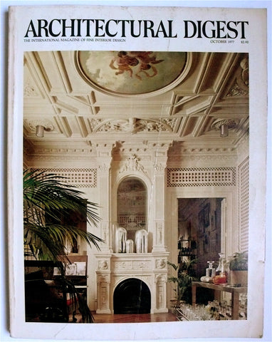 Architectural Digest October 1977