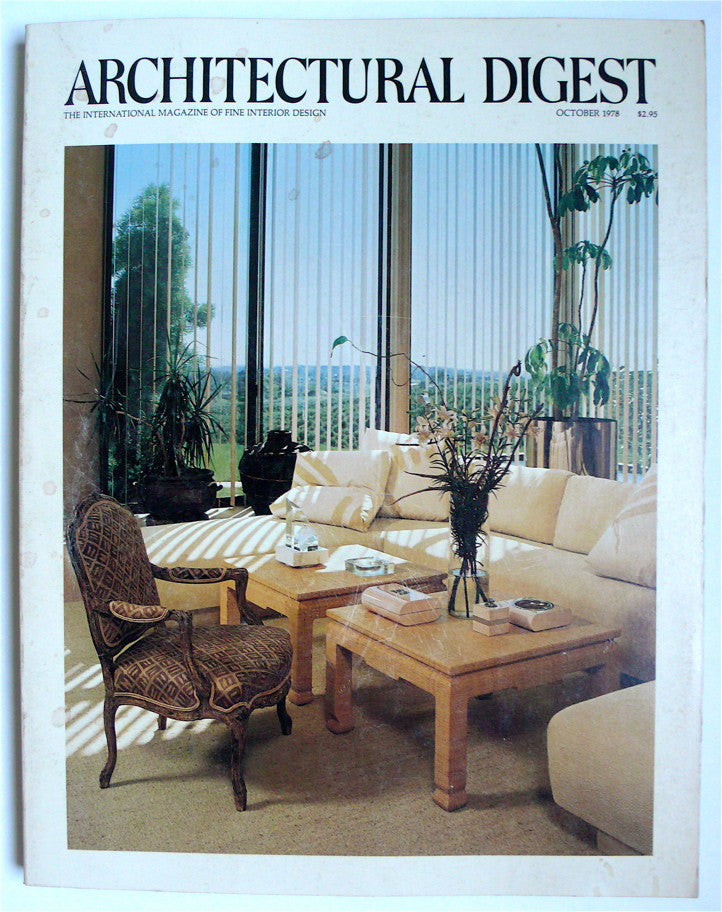 Architectural Digest October 1978
