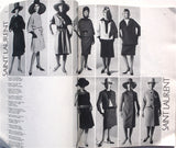French Vogue supplement Spring 1962 Haute Couture including Saint Laurent's first line