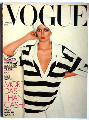 British Vogue April 15th, 1976