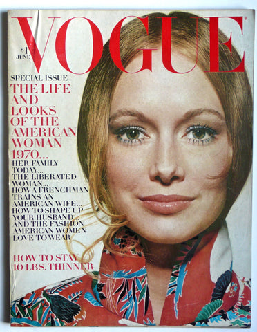 Vogue June 1970 Jane Birken