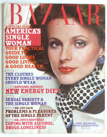 Harper's Bazaar March 1975
