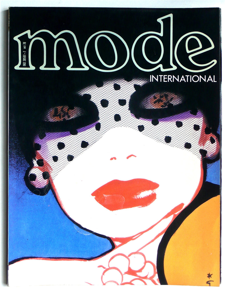 Mode International Octobre 1978