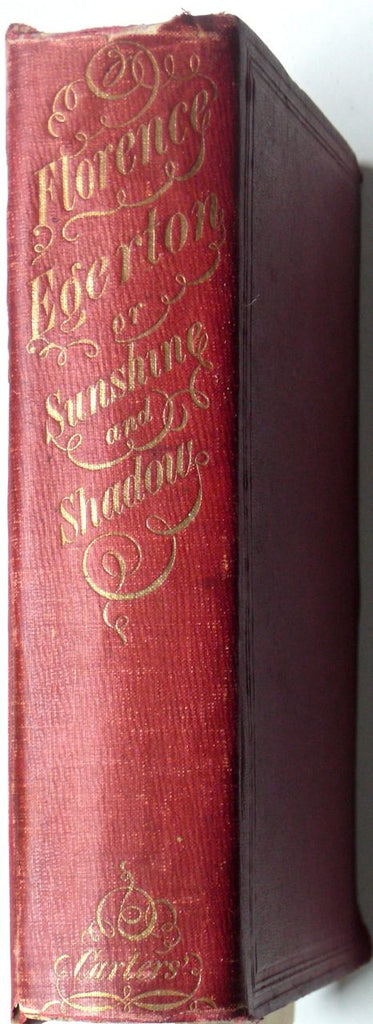 Florence Egerton, or Sunshine & Shadow  original edition from 1855