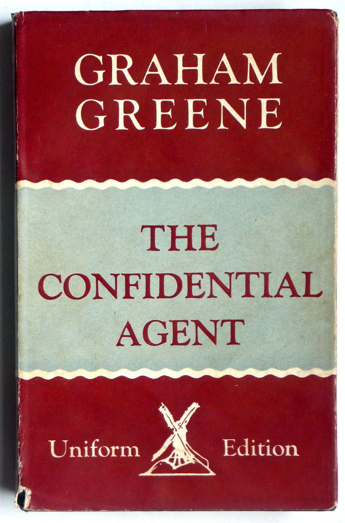 The Confidential Agent by Graham Greene Heinemann Uniform Edition