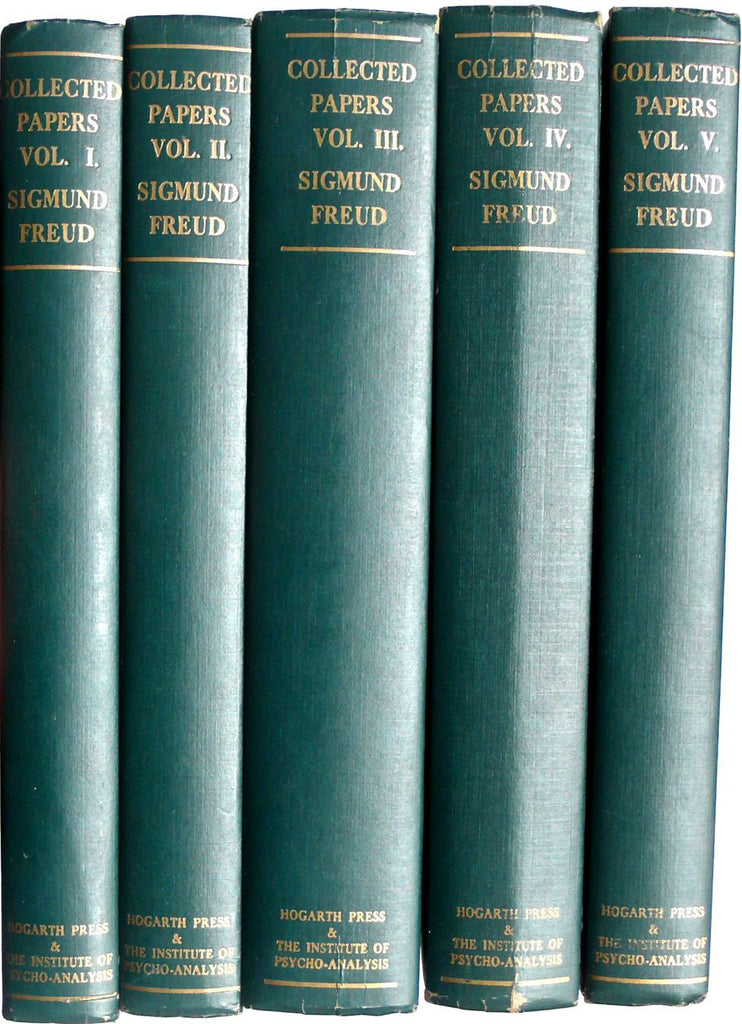Collected Papers of Sigmund Freud  five volumes Hogarth Press