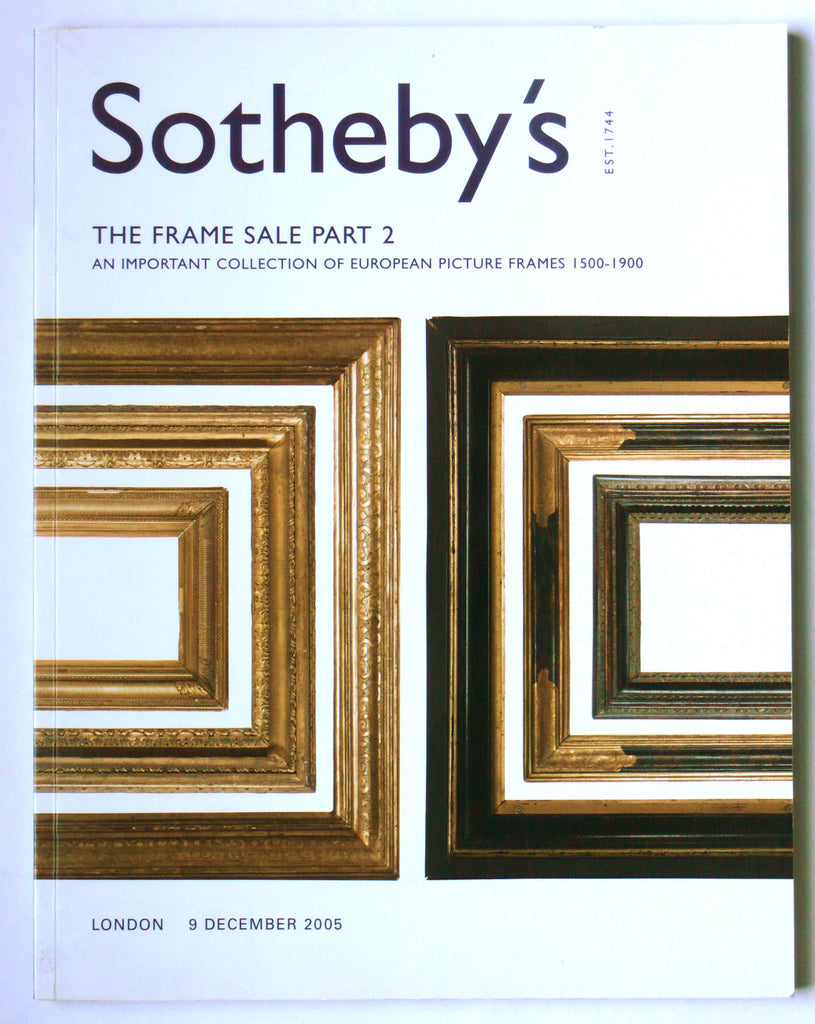 Sotheby's: The Frame Sale part 2