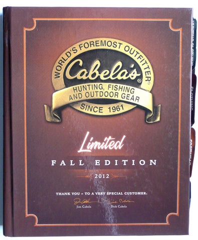 Cabela's Hunting Fishing and Outdoor Gear 2012