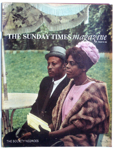 The London Sunday Times Magazine February 28, 1966