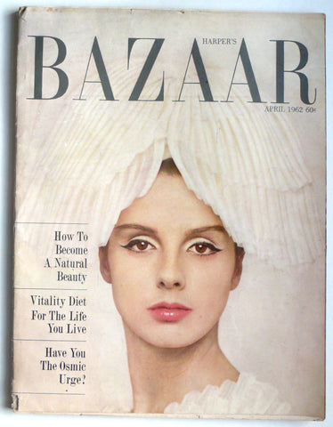 Harper's Bazaar April 1962
