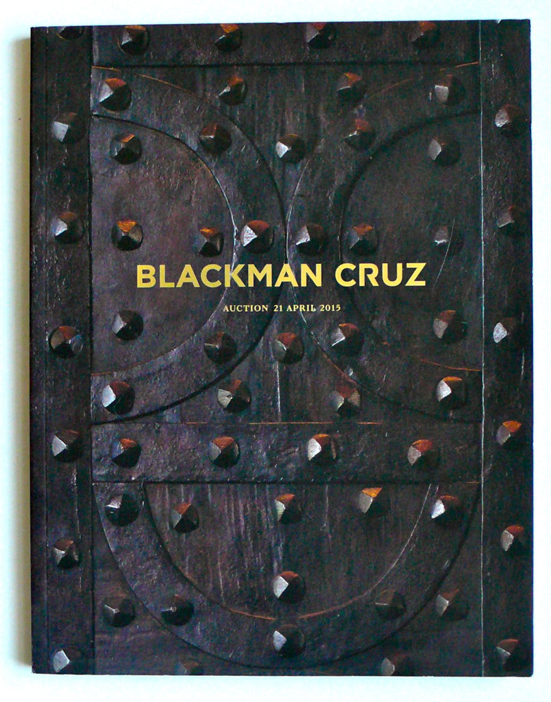 Blackman Cruz auction 21 April 2015