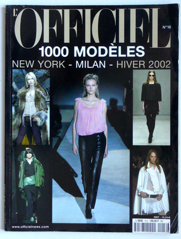 L'Officiel New York-Milan Hiver 2002