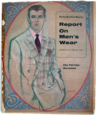 Report on Men's Wear September 18, 1966