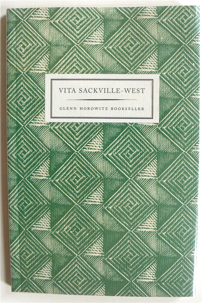 Vita Sackville-West Glenn Horowitz