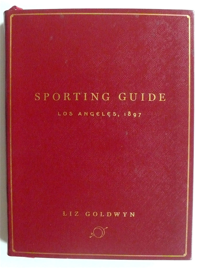 Sporting Guide Los Angeles 1897