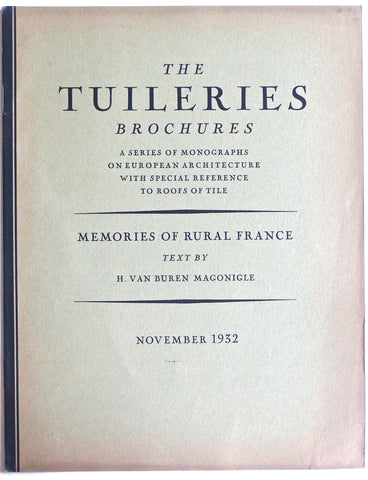 The Tuileries Brochures November 1932
