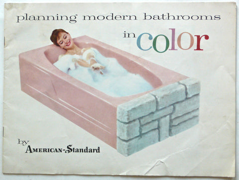 Planning Modern Bathrooms in Color