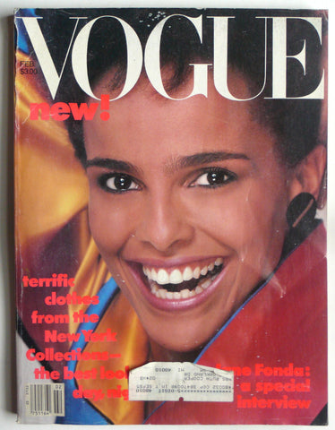 Vogue February 1984 shari belafonte