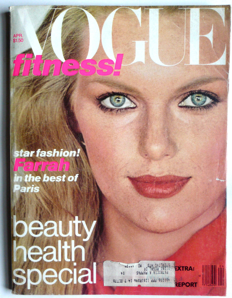 Vogue April 1978 patti hansen