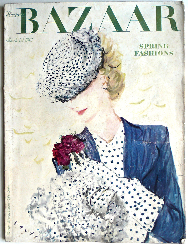 Harper's Bazaar March 1st 1942