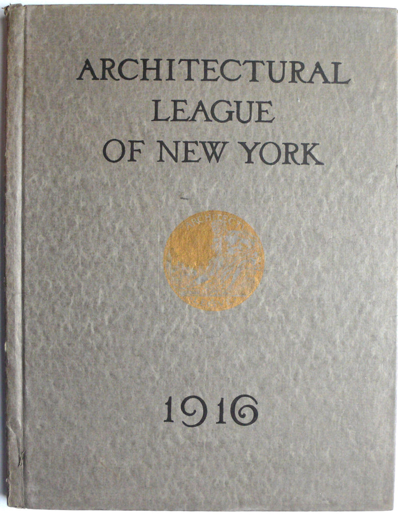 Architecture League of New York 1916