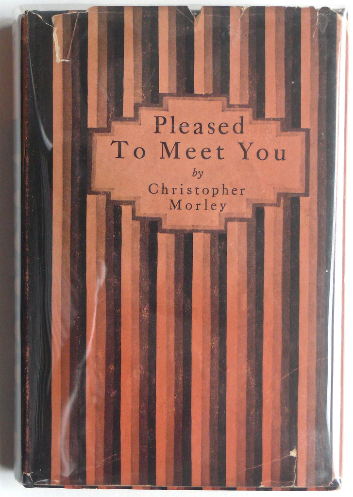 Pleased to Meet You by Christopher Morley