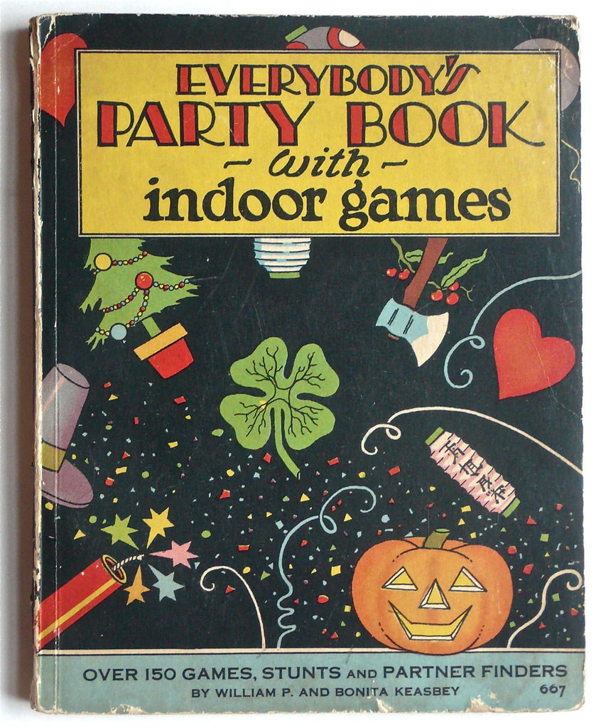 Everybody's Party Book with Indoor Games