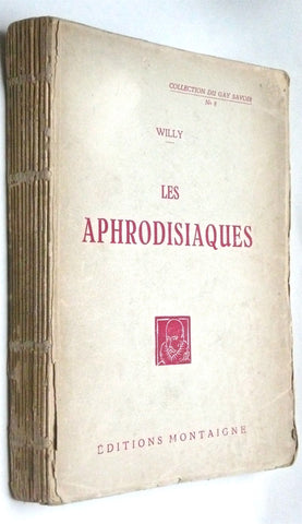 Paris: Collection du Gay Savoir No. 8, 1927 Willy