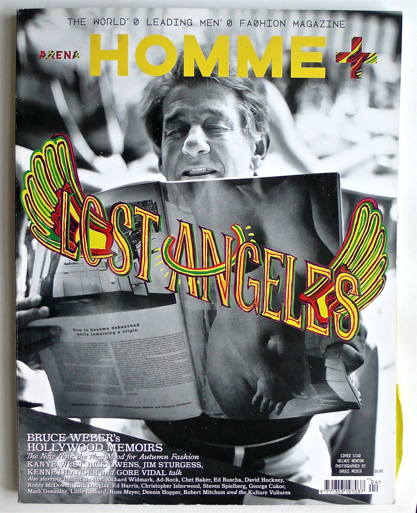 Arena Homme + Lost Angeles : Bruce Weber's Hollywood Memoirs