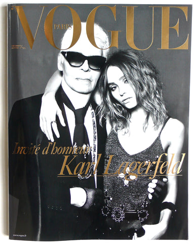 [still sealed] French Vogue edited by Karl Lagerfeld