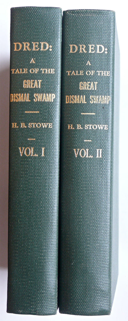 Dred ; Tale of the Great Dismal Swamp by Harriet Beecher Stowe 1856