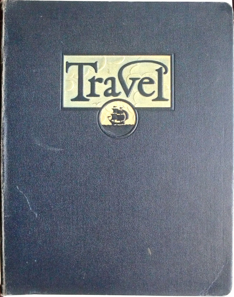 Travel magazine April May June October November December 1937  January February March April May June 1938