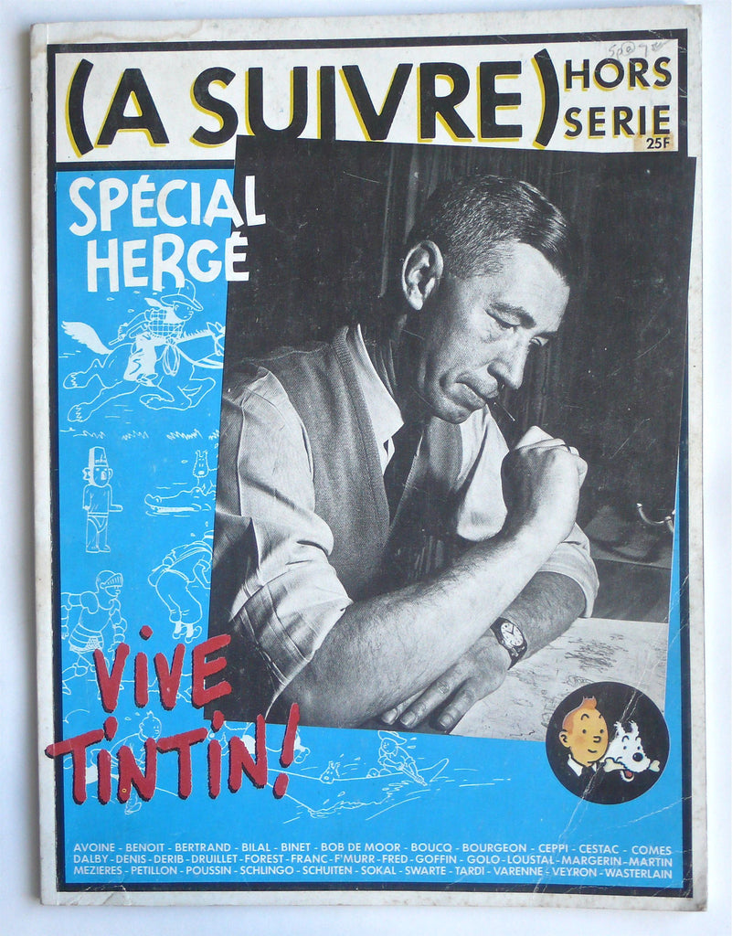 (A Suivre) Hors Serie -- Special Herge Vive Tintin!