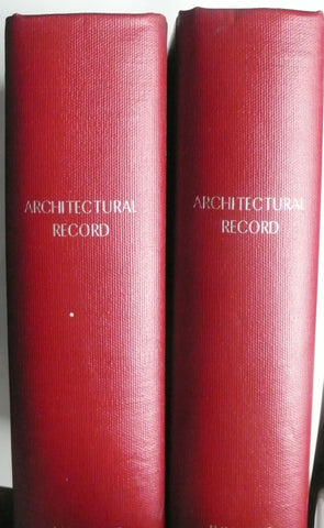 Architectural Record January February March April May June July August September October November December 1980
