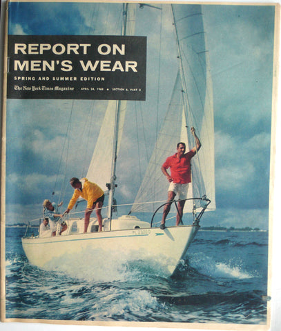 Report on Men's Wear Spring and Summer Edition