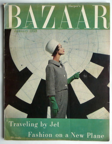 Harper's Bazaar January 1958