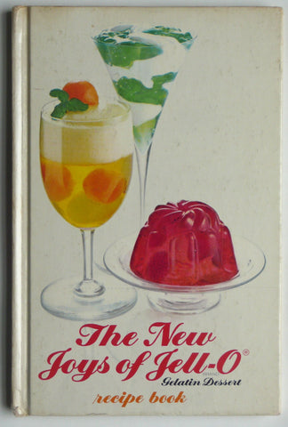 The New Joys of Jell-o  Recipe Book
