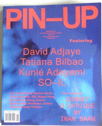 Pin-Up Magazine for Architectural Entertainment Spring/Summer 2015