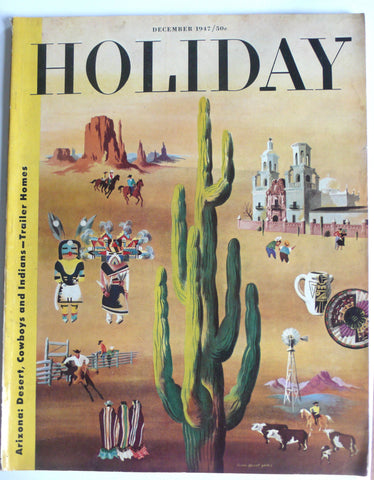 Holiday magazine December 1947